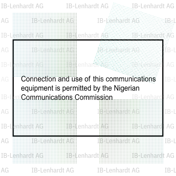 Nigeria Type Approval Label